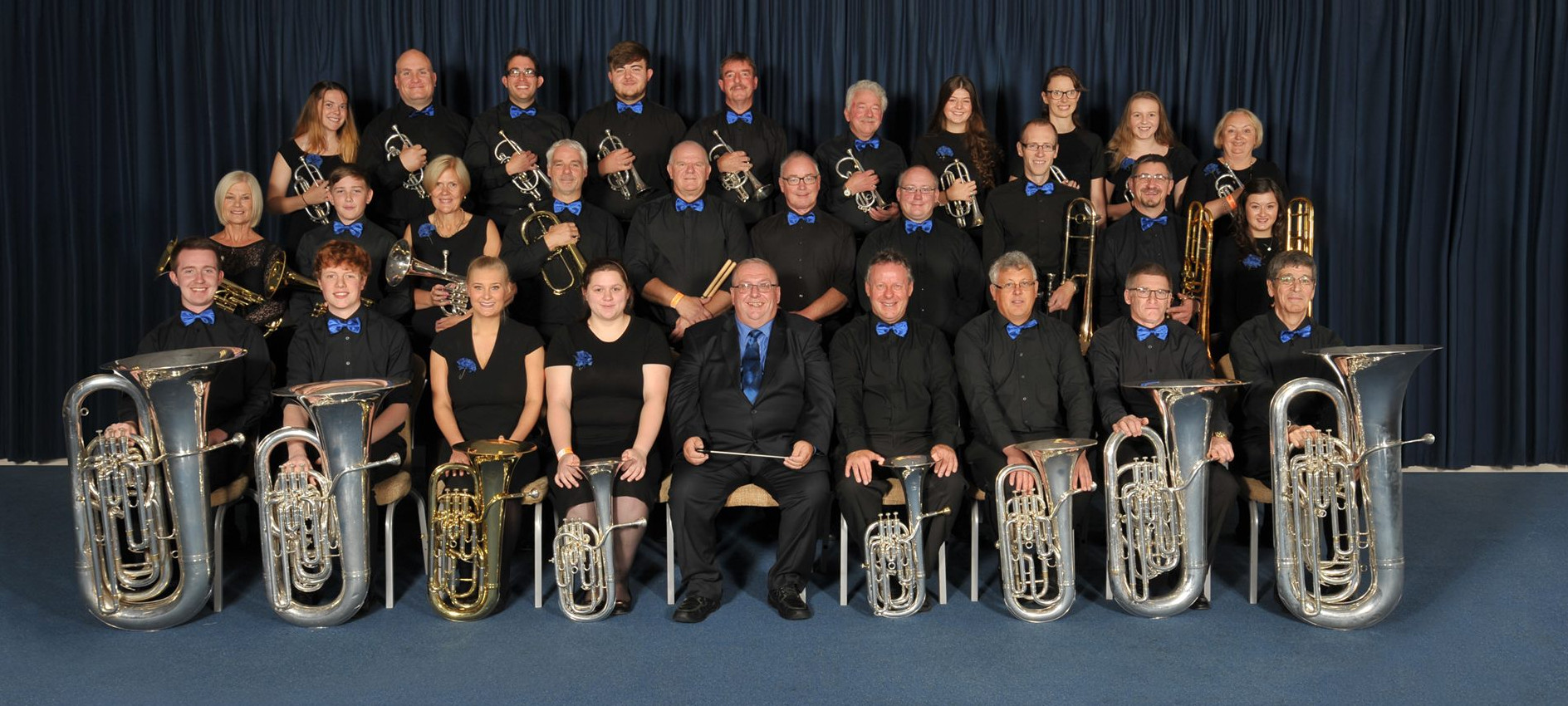 Shirland Welfare Band at the National Brass Band Championships 2017